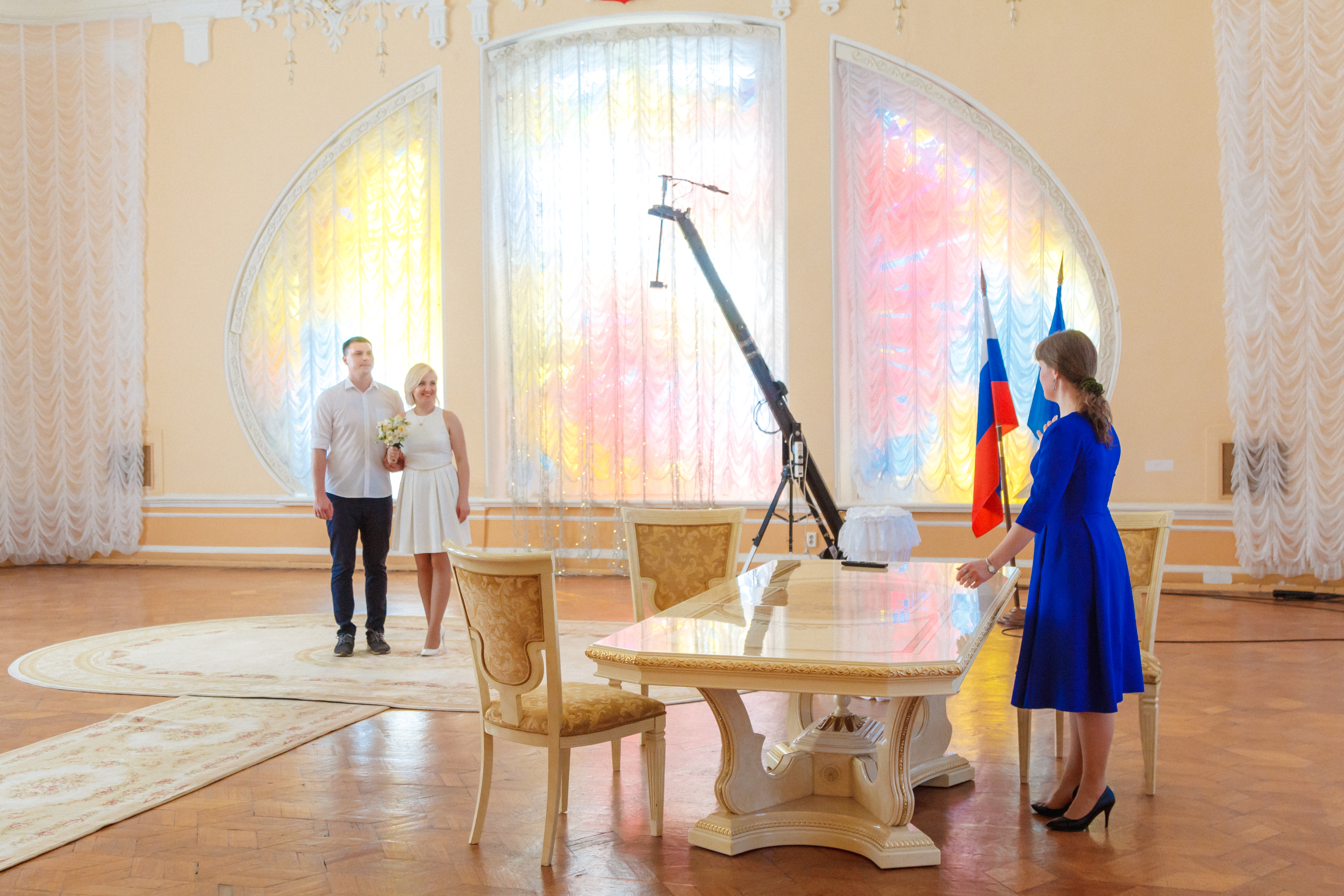 Центральный зал Дворца бракосочетаний ждут изменения